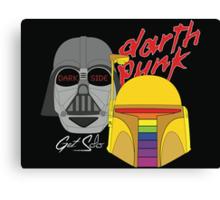 Darth Punk - Get Solo Canvas Print