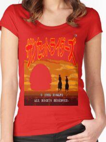 Sansetto Raidāzu Women's Fitted Scoop T-Shirt