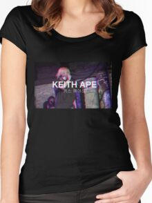 Keith Ape Women's Fitted Scoop T-Shirt