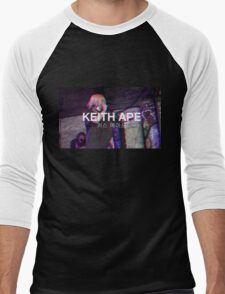 Keith Ape Men's Baseball ¾ T-Shirt