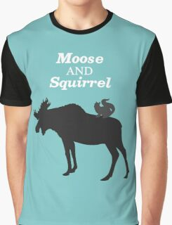 Supernatural Moose and Squirrel  Graphic T-Shirt