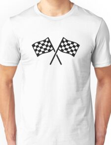 Racing finish flags Unisex T-Shirt