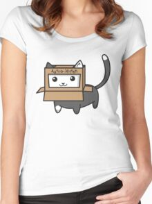 Astro Kitty Women's Fitted Scoop T-Shirt