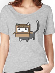 Astro Kitty Women's Relaxed Fit T-Shirt