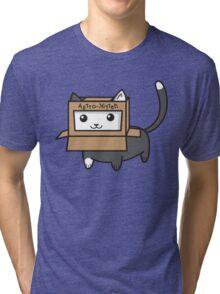 Astro Kitty Tri-blend T-Shirt