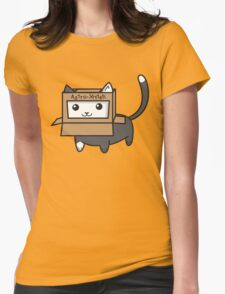 Astro Kitty Womens Fitted T-Shirt