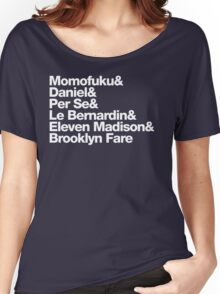 NYC Michelin Stars Women's Relaxed Fit T-Shirt