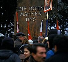Luxemburg-Liebknecht Demo, Berlin 2014 by Michel Meijer