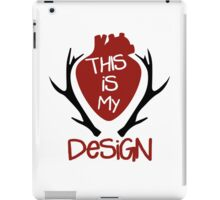 Hannibal - This Is My Design iPad Case/Skin