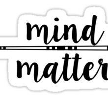 Mind Over Matter - Arrow Sticker