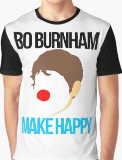 Bo Burnham - Make Happy Graphic T-Shirt