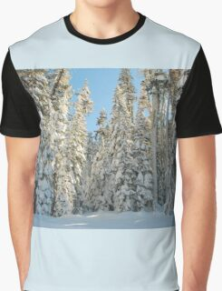 Snowy trees Graphic T-Shirt