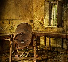 Old Dairy Churn by EmvandeBee