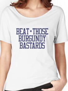 Beat Burgundy Women's Relaxed Fit T-Shirt