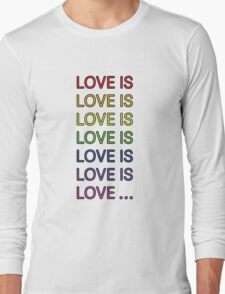 Love is... Long Sleeve T-Shirt