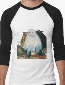 Fat Cats Men's Baseball ¾ T-Shirt