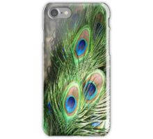 A Bouquet of Peacock Feathers iPhone Case/Skin