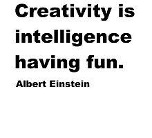 Intelligence Having Fun by Everything Random