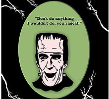 Herman Munster by natasha  jones