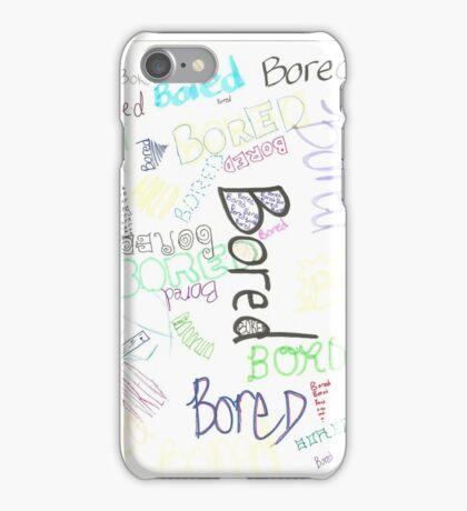 Boredboredboredbored iPhone Case/Skin