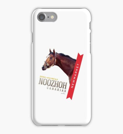 NOOZHOH CANARIAS * 2000 Guineas * iPhone Case/Skin