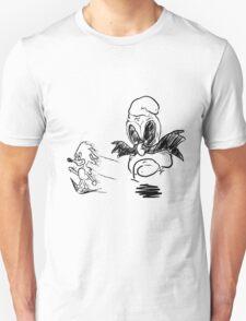 Sanic and Botnik Chase Unisex T-Shirt