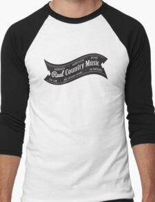 Real Country Music Men's Baseball ¾ T-Shirt