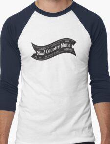 Real Country Music Men's Baseball ¾ T-Shirt