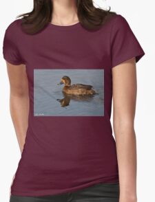 Female Greater Scaup Womens Fitted T-Shirt