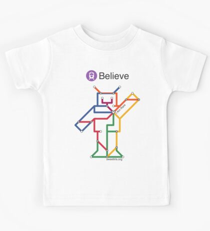 Sweet Iris Robot (Fight GM1 Gangliosidosis) Kids Tee