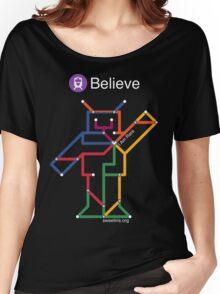 Sweet Iris Robot (Fight GM1 Gangliosidosis) (White) Women's Relaxed Fit T-Shirt