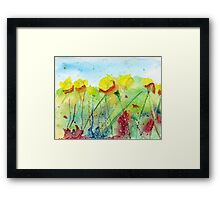 Yellow Flowers #4 Framed Print