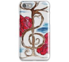 Music Note Tree iPhone Case/Skin
