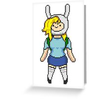 Fionna, Adventure time Greeting Card