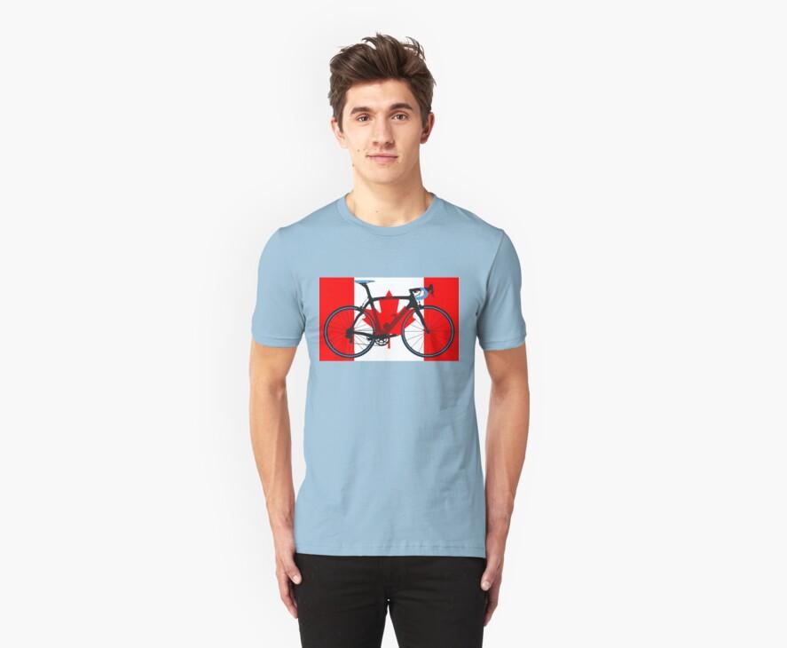 Bike Flag Canada (Big - Highlight) by sher00