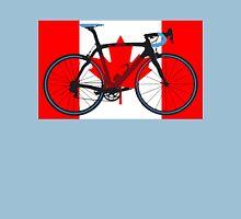 Bike Flag Canada (Big - Highlight) Unisex T-Shirt