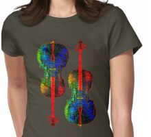 Cello Colors Womens Fitted T-Shirt