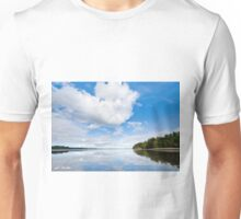 Clouds Reflected in Puget Sound Unisex T-Shirt