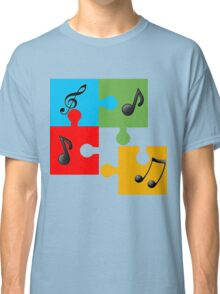 Puzzle music Classic T-Shirt