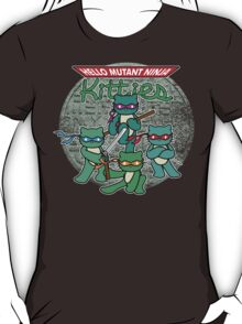 Hello Mutant Ninja Kitties T-Shirt