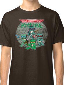 Hello Mutant Ninja Kitties Classic T-Shirt