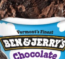 Ben & Jerry's Chocolate Therapy Sticker