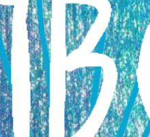 Mermaid Shell Pi Beta Phi Sticker