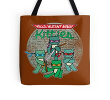 Hello Mutant Ninja Kitties Tote Bag