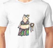 Belly Dancin' Pig Unisex T-Shirt