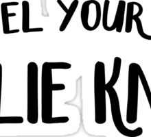 Channel Your Inner Leslie Knope  Sticker