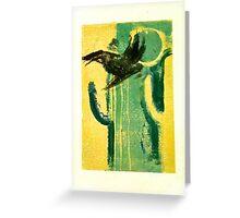 Pajaro pintado Greeting Card