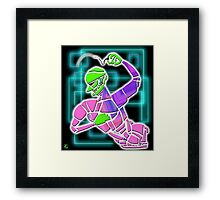 Figure with Beads Framed Print