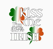 Kiss me I'm 32% Irish Unisex T-Shirt