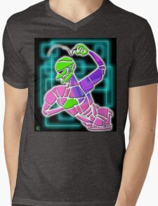 Figure with Beads Mens V-Neck T-Shirt
